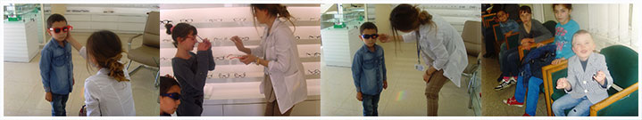 Eye Examinations and glasses for children at Mari Ismirlyan