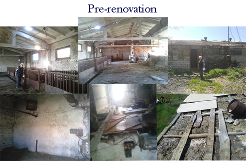 Pre-renovation for a Hippotheray Arena for Kharberd Orphanage