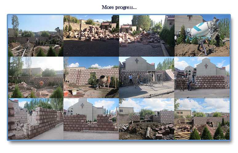 Progress at dental clinic Our Lady of Armenia, Tashir