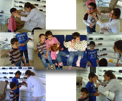 Eye exams and glasses for children at Mari Izmirlyan