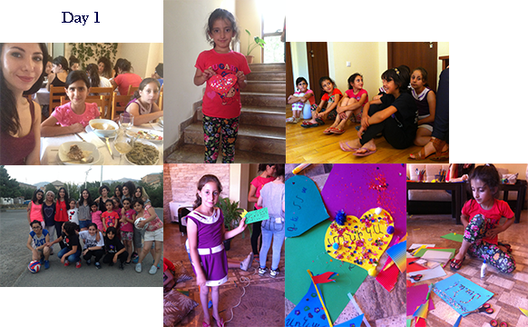Pictures from the Gulamerian Armenian Orphan Fund Retreat, August 5 - August 11