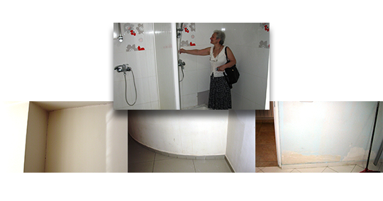 10 new showers along with bath floor repairs at Mer Hooys