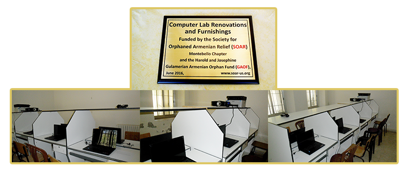 Renovations of computer lab at Birds' Nest Orphanage