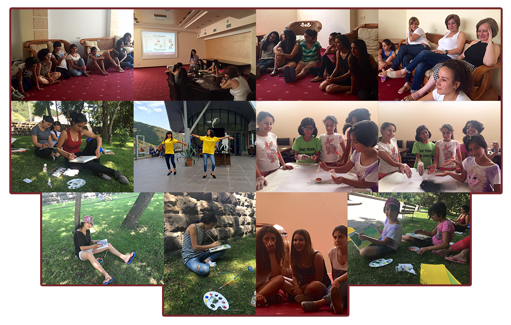 Gulamerian Armenian Orphan Fund 2nd Summer Retreat