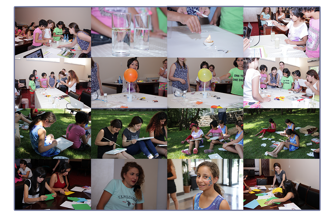 Experiments and more at the Gulamerian summer retreat!