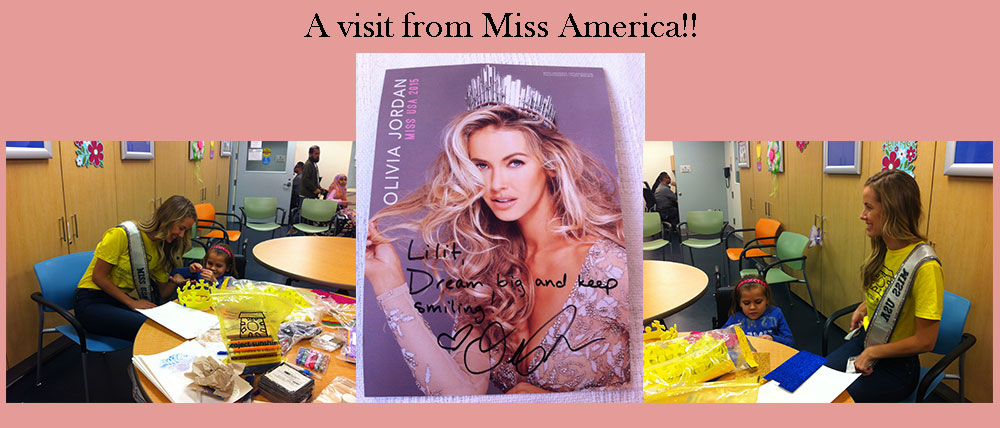 A visit from Miss America!