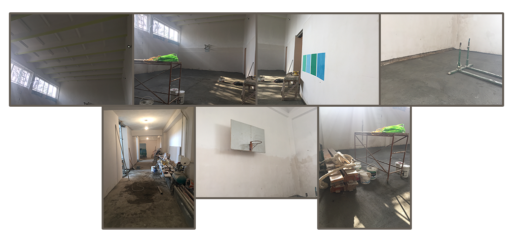 Continuing work at Vardashen gymnasium that began in 2017