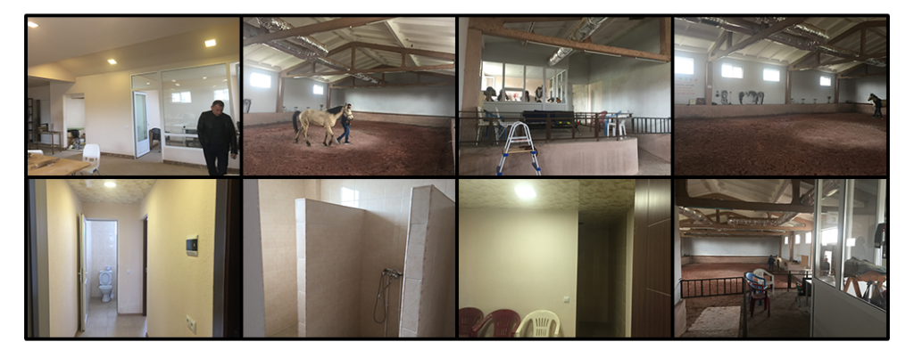 Hippotherapy changing room at Kharberd