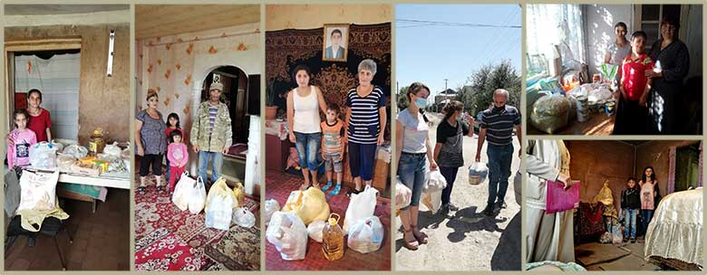 3rd Round of Food Distributions