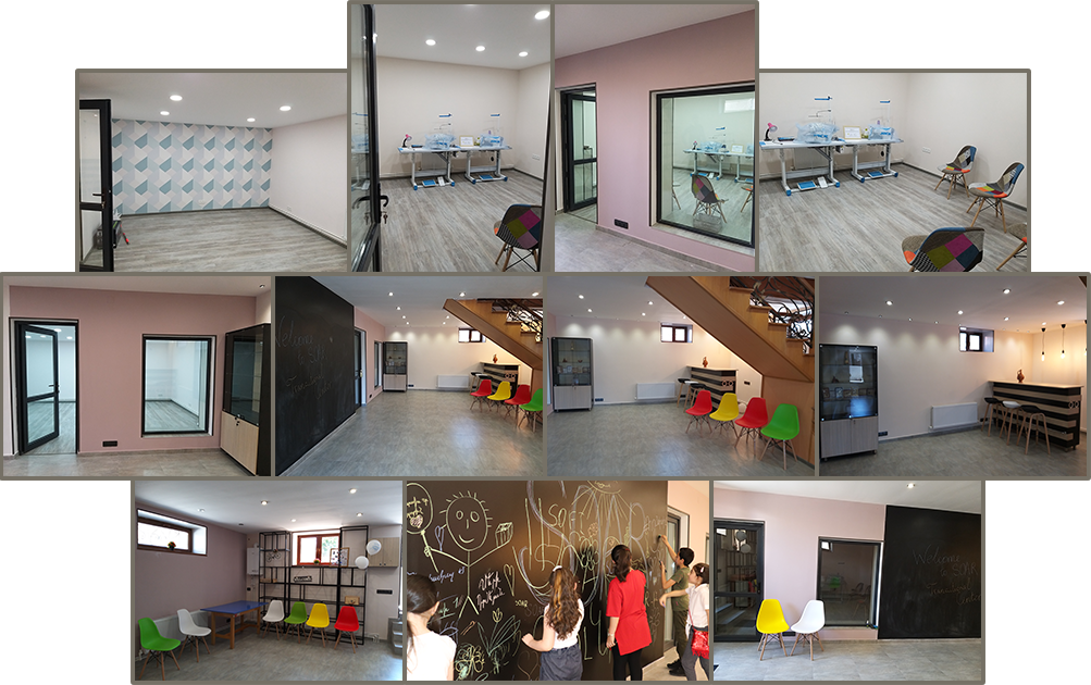 Completed renovations of the basement at the SOAR Transitional Center